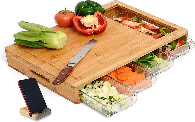 Best Cutting board with trays