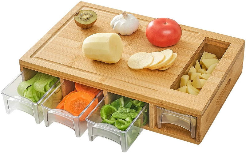 Best Cutting Board With Containers