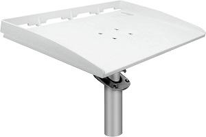 boat cutting board rod holder